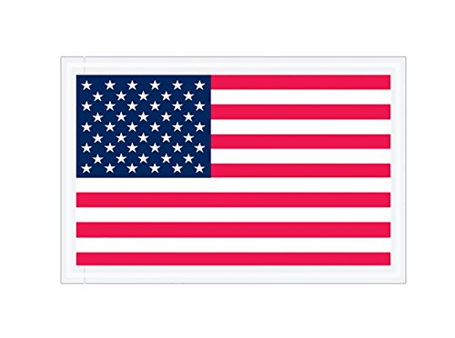 RetailSource E080501US1000 U.S.A. Flag Packing List Envelopes, 8