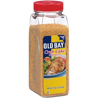 Old Bay Crab Cake Classic Mix (16 oz.) (pack of 2) Chesapeake Bay Crab Cake Recipe