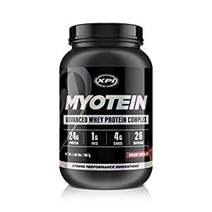 Myotein Protein Powder (Creamy Chocolate, 2lbs) - Best Whey Protein Powder Complex - Great Tasting - Hydrolysate, Isolate, Concentrate & Micellar Casein