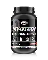 Myotein Protein Powder (Creamy Chocolate, 2lbs) - Best Whey Protein Powder Complex - Great Tasting - Hydrolysate, Isolate, Concentrate & Micellar Casein