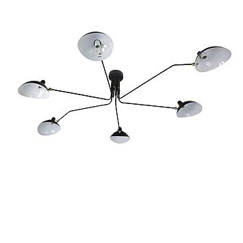 Gengj Lampe Lustre à Led Lustre Industriel Creative6