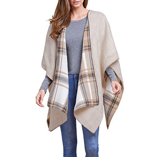 (Woolrich Reversible Blanket Wrap Nantucket Plaid)