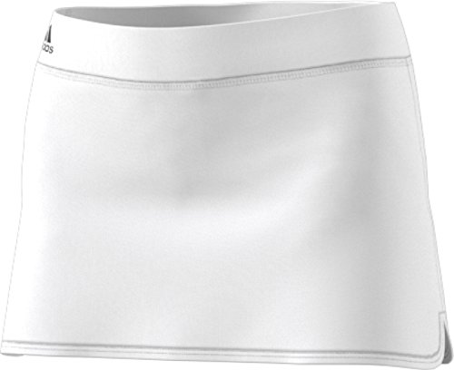 adidas Women's Tennis Climachill Skirt, White, Large
