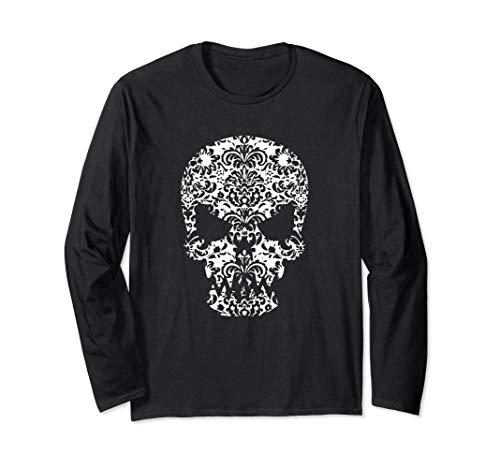 Day of the Dead Skull - Dia de los Muertos  Long Sleeve T-Shirt ()