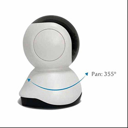 Wireless ip kamera Alarmanlagen Surveillance kamera Megapixel Hohe AuflöSung ,IR LED Nachtsicht,Babyfon - WLAN mit WLAN/Audio/App/SD Karte/Cloud Weitwinkel Objektiv 1 MP