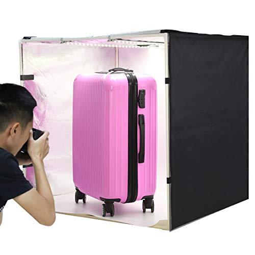 PULUZ Photo Studio Light Box 31.5'' X 31.5'' X 31.5'' / 80 X 80 X 80 cm LED 5500LM Mini Portable Photo Studio Shooting Tent with 3 Backgrounds White Black Orange 80W by PULUZ (Image #10)