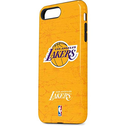 Amazon.com  Skinit NBA Los Angeles Lakers iPhone 8 Plus Pro Case - Los  Angeles Lakers Gold Primary Logo Design - High Gloss bbd02fb87