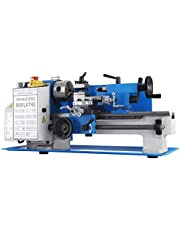 BestEquip Mini Metal Lathe 550W 7 x 14 Inch Metal Lathe 0.75HP 2500 RPM Infinitely Variable Spindle Speed Mini Lathe for Various Types of Metal Turning