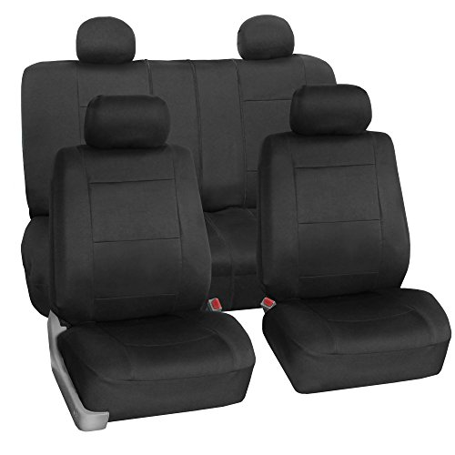 FH Group FB083114 Neoprene Seat Covers (Black) Full Set