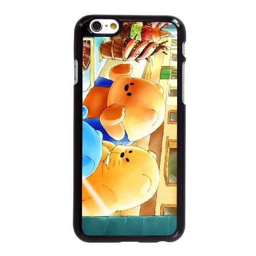 W1P68 le milieu de l'été le jour des merveilles X7Q0BG coque iPhone 6 Plus de 5,5 pouces de cas de couverture de téléphone portable coque noire KR6XIR3RO