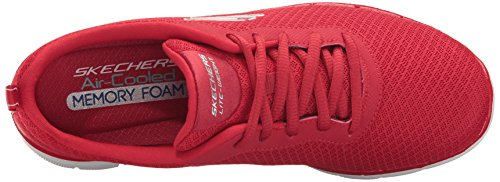 Skechers 12775 Nero Red Sneaker Donna XXrqYw