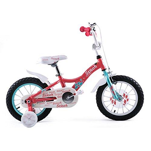 """Joystar 14"""" Aluminum Kids Bike with Training Wheels For Girl"""