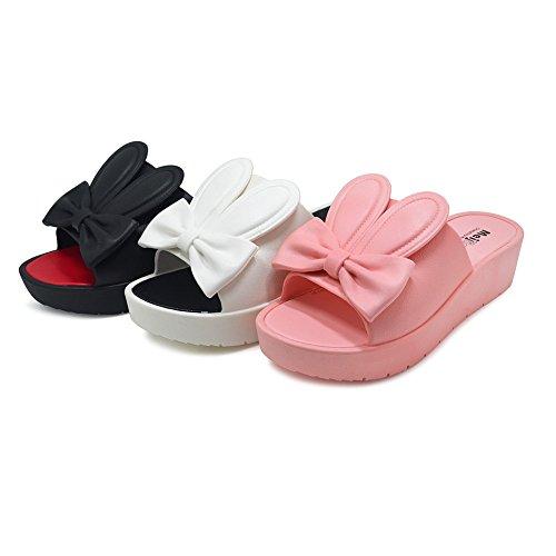 Asequible barato en línea Profesional de envío gratis Correa de Cuero de Mujer Sandalias de Cuña Zapatos Negros Cinzia Suave IAD16941 40 Venta en línea de compras Visita barato Nuevo Compras en línea Venta en línea qbNfgVb