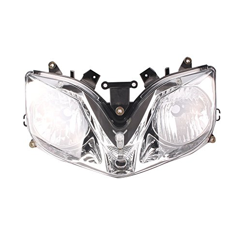 Honda Headlight Adjustment - Mallofusa Motorcycle Headlight Headlamp Fits HONDA CBR 600 F4 F4i 2001-2007