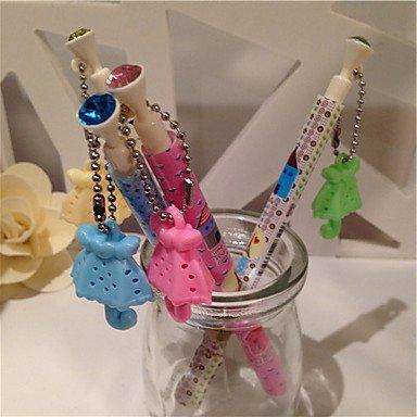 BuW Umbrella Pendant Parfume Blue Ink Ballpoint Pen (Random Colors 1PCS) , cute creative Stationery and office supplies