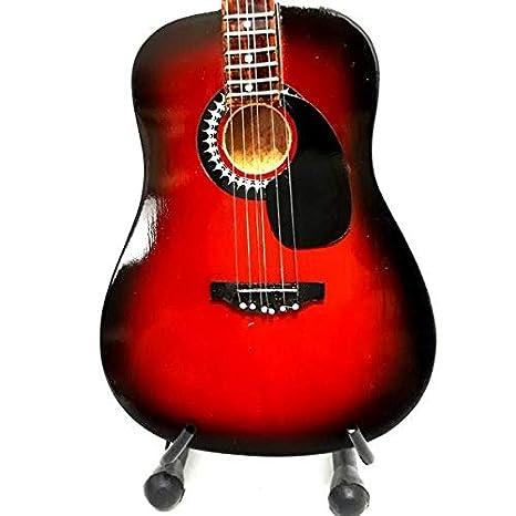 Mini guitarra de colección réplica de artistas de los años sesenta: Amazon.es: Instrumentos musicales