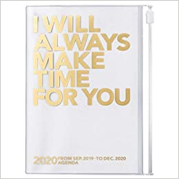 MARKS 2020 Taschenkalender A6 vertikal, MAKE TIME Gold ...