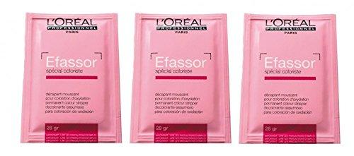 Loreal Efassor 3 x 28 g Farbabzug L'Oreal Professionnel LP