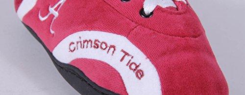 Happy Feet Mens Och Kvinna Ncaa College Runt Tofflor Alabama Crimson Tide
