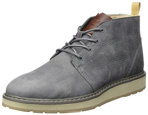 Boxfresh Men's Garreis High-Top Trainers Grey anCQ7PT