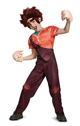 Disguise Ralph Deluxe Child Costume, Multi Color, Medium/(7-8)