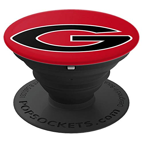 Georgia - Letter G Altanta Fan Gift - PopSockets Grip and Stand for Phones and Tablets (Letter Large Georgia)