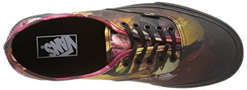 Authentic Ombre black Multicolore Vans Sneakers black Floral U ombre Unisex Floral wqWCB45