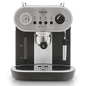 Gaggia RI8525/01 Carezza De LUXE Espresso Machine, Silver
