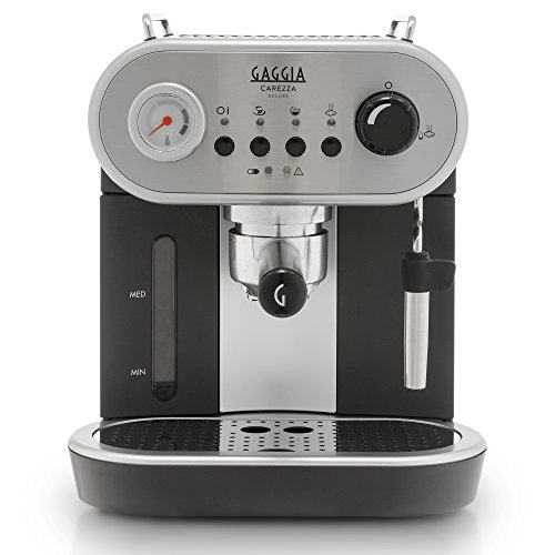 Gaggia RI8525/01 Carezza De LUXE Espresso Machine, Silver (Evolution Espresso Machine)