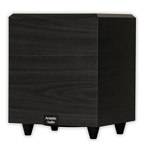 (Acoustic Audio PSW-15 Down Firing Powered Subwoofer (Black) )