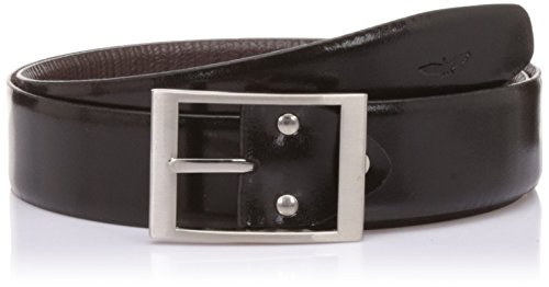 Park Avenue Men's Leather Belt Buckle