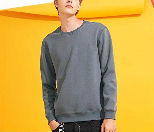 Uomo Constructs Plus Cotone Maschile Caldo Pile Xxxl In Abbigliamento Addensato Invernali Black Felpe Casual Felpa Taglia Awy702436 7IwIrqR