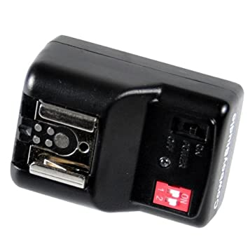 CowboyStudio NPT-04 4 Channel Wireless Trigger for External Speelights with 1 Trigger and 2 Receivers (NPT-04+extra receiver) Yanyee International Inc.