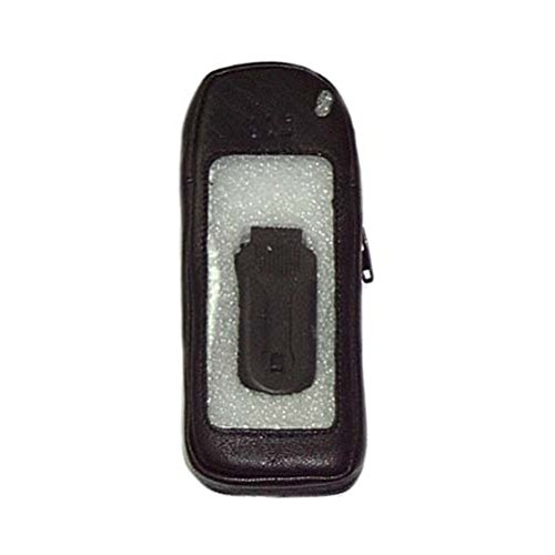 Generic 11026 CCM Leather Cell Case CCM executive leather cell phone case with clear plastic front for Audiovox 8100.