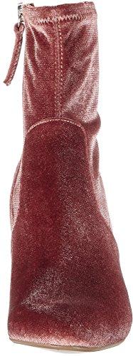 Women''s Ankle Avenue Steve blush Velvet Boots Madden Pink Ztann5f