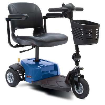 Rascal 3 Wheel Scooter Color: Blue