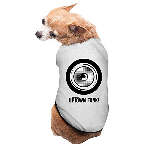 Mark Ronson & Bruno Mars - Uptown Funk Pet Dog Costumes Charming Cozy Small Dog (Up Town Funk Costumes)