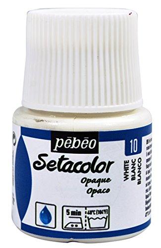 Pebeo Setacolor Opaque 45 Milliliter Titanium