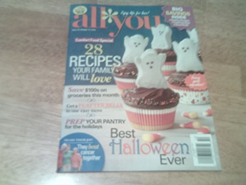 All You magazine, October 17, 2014-Best Halloween Ever-Comfort Food Special 28 Recipes Your Family Will Love (All Recipes Halloween)