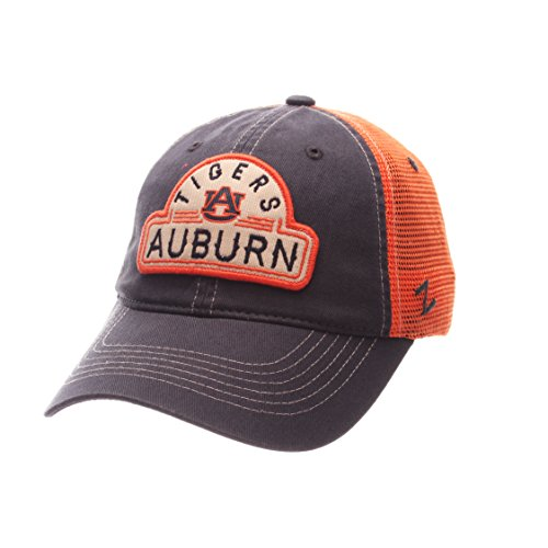 Adjustable Size NCAA Arizona Wildcats Adult Mens Staple Trucker Blackout Cap Black