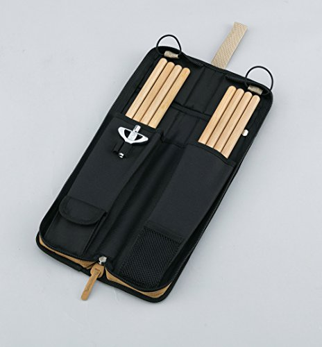 TAMA TSB12NB POWERPAD Stick Bag - Navy Blue - 6 pairs of sticks and mallets by Tama (Image #1)
