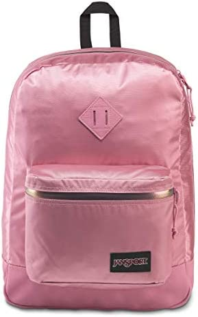 JanSport Super FX Backpack – Trendy School Pack With A Unique Textured Surface