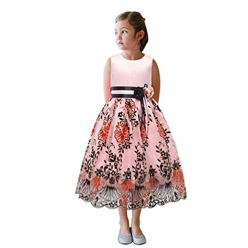 Abito Principessa Della Abiti Pink Da Elegante Maniche Sposa Party Di Convenzionale Capretti Lihaer Ragazze Vestito Modo Del Senza qvwCSn7nxU