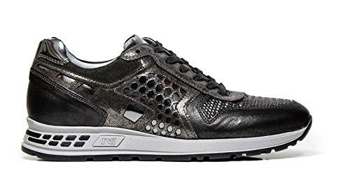 Nero Donna Giardini Sneakers Grigio A616182D 105 qqrEdn