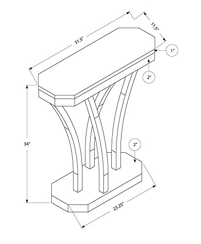 Octagonal Occasional Table - 6