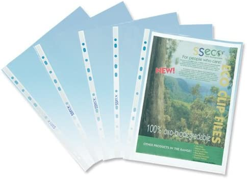 Sseco Recyclable And Biodegradable Punched Pocket Pack 100 50 Micron