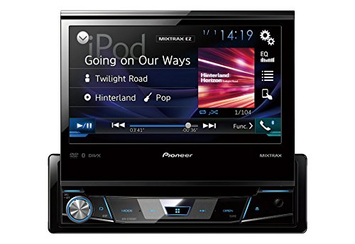"Pioneer AVH-X78008BT 7"" 1Din DVD Receiver Bluetooth"