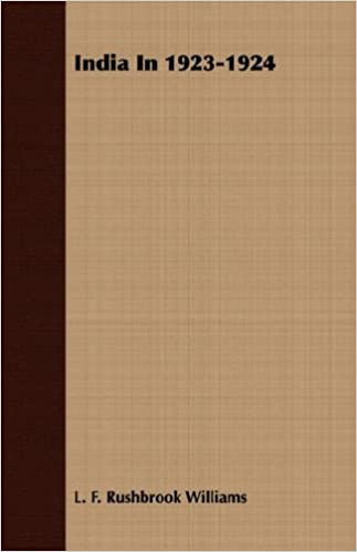 Book India In 1923-1924