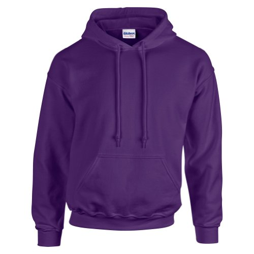 Felpa Purple Blend Heavy Uomo Gildan wYZzqEx