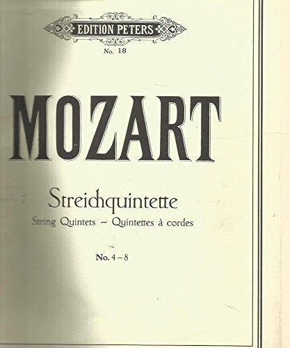 Streichquintette / String Quintets Nos. 4-8